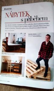 Woodcock v časopise Sofie Bydlení